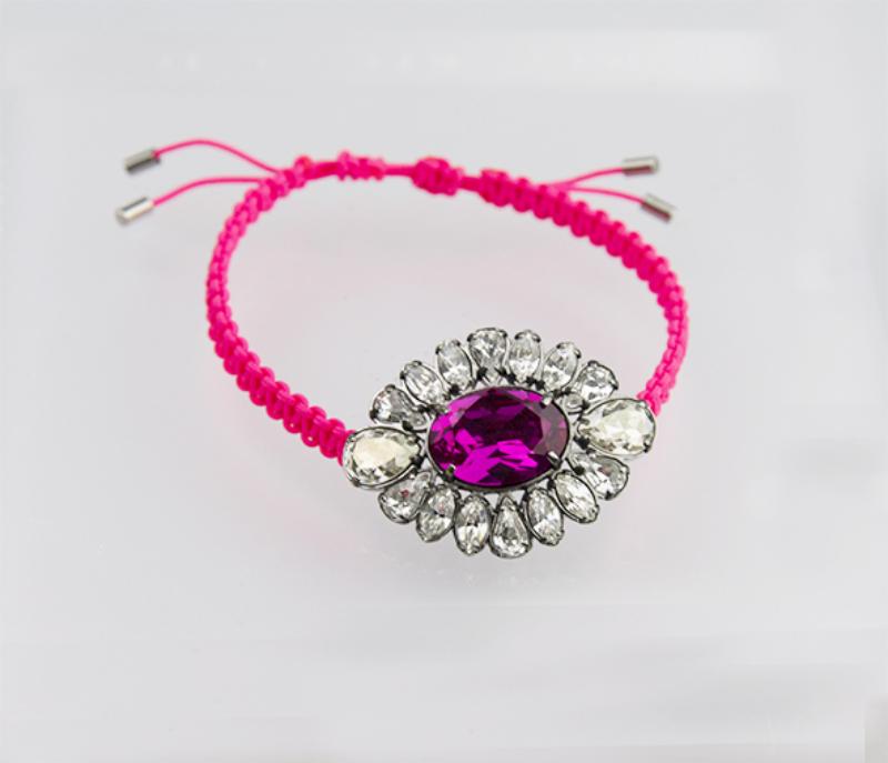 Bracciale-Swarovski-Donna-Shourouk-Pink-5019150